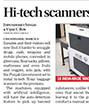 The Tribune covers our X - Ray baggage scanners that are installed in vaious Punjab Prisons