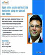 Online session on Heart rate monitoring using non-contact face videos by Dr. Puneet Gupta