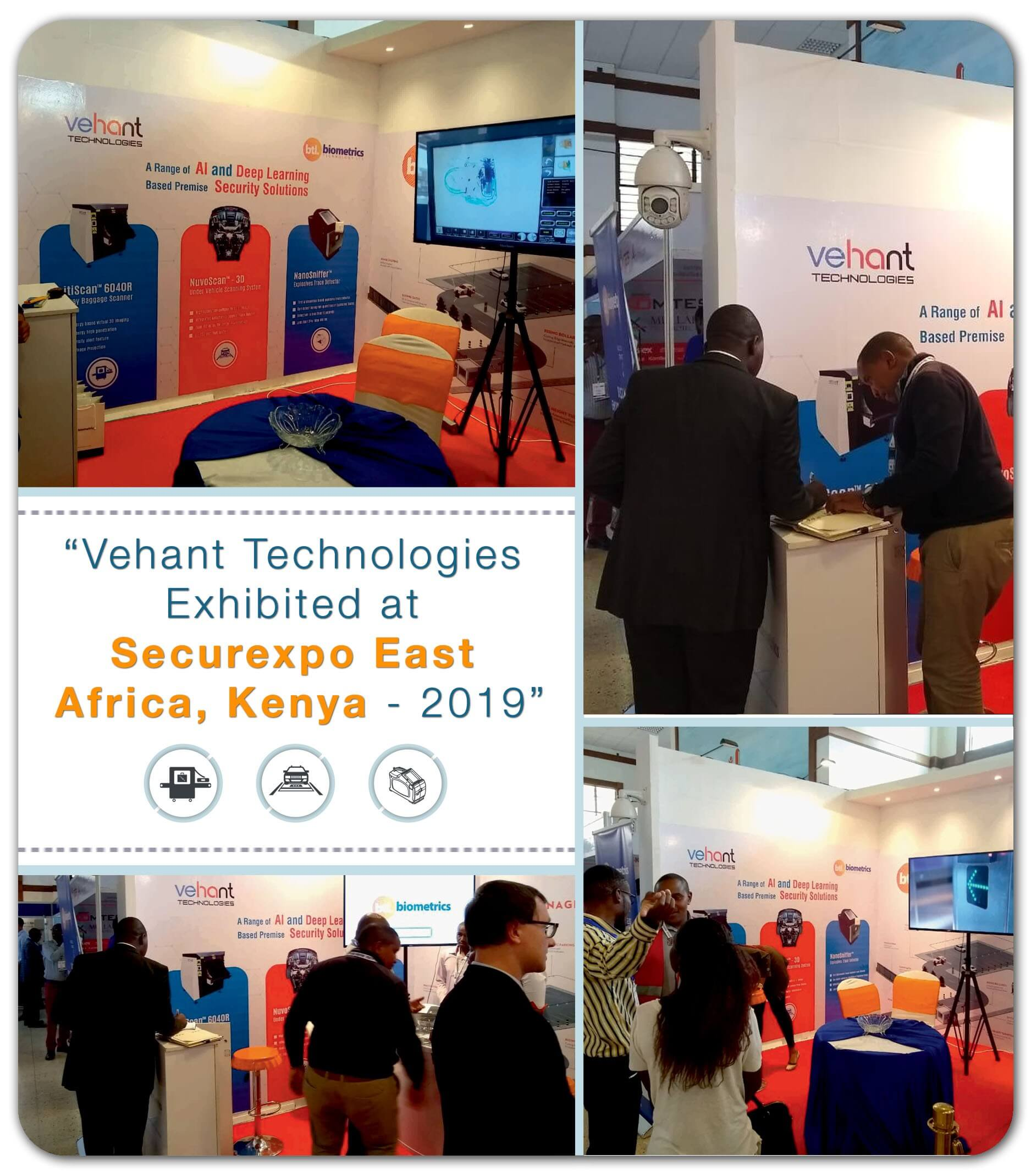 Vehant participated in Securexpo, East Africa, Kenya - 2019