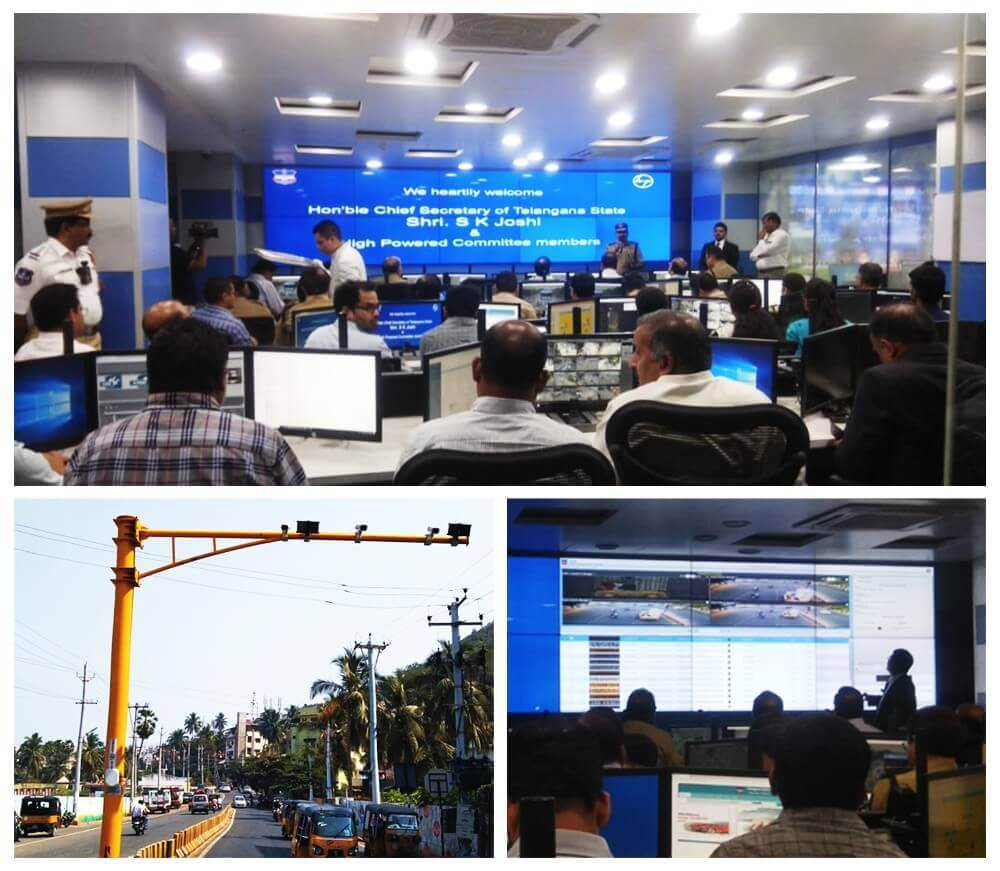 Hyderabad Smart City - ITMS and ICCC inauguration