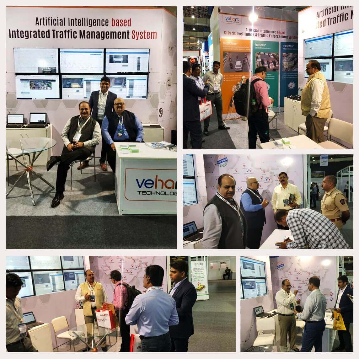 TrafficInfraTech 2019 for Vehant kick started with heaps of footfall. Traffic Police officials from across the country and personnel of the industry visited our booth.  We also received number of potential clients.