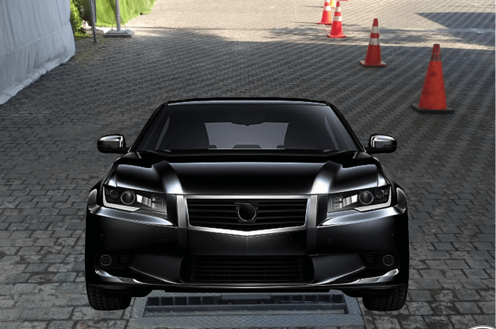 DuoScan - Automated Under Vehicle Scanning System
